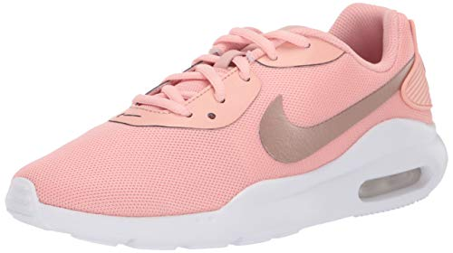 Nike Women's Air Max Oketo Sneaker, Coral Stardust/Metallic Red Bronze-White, 7.5 Regular US