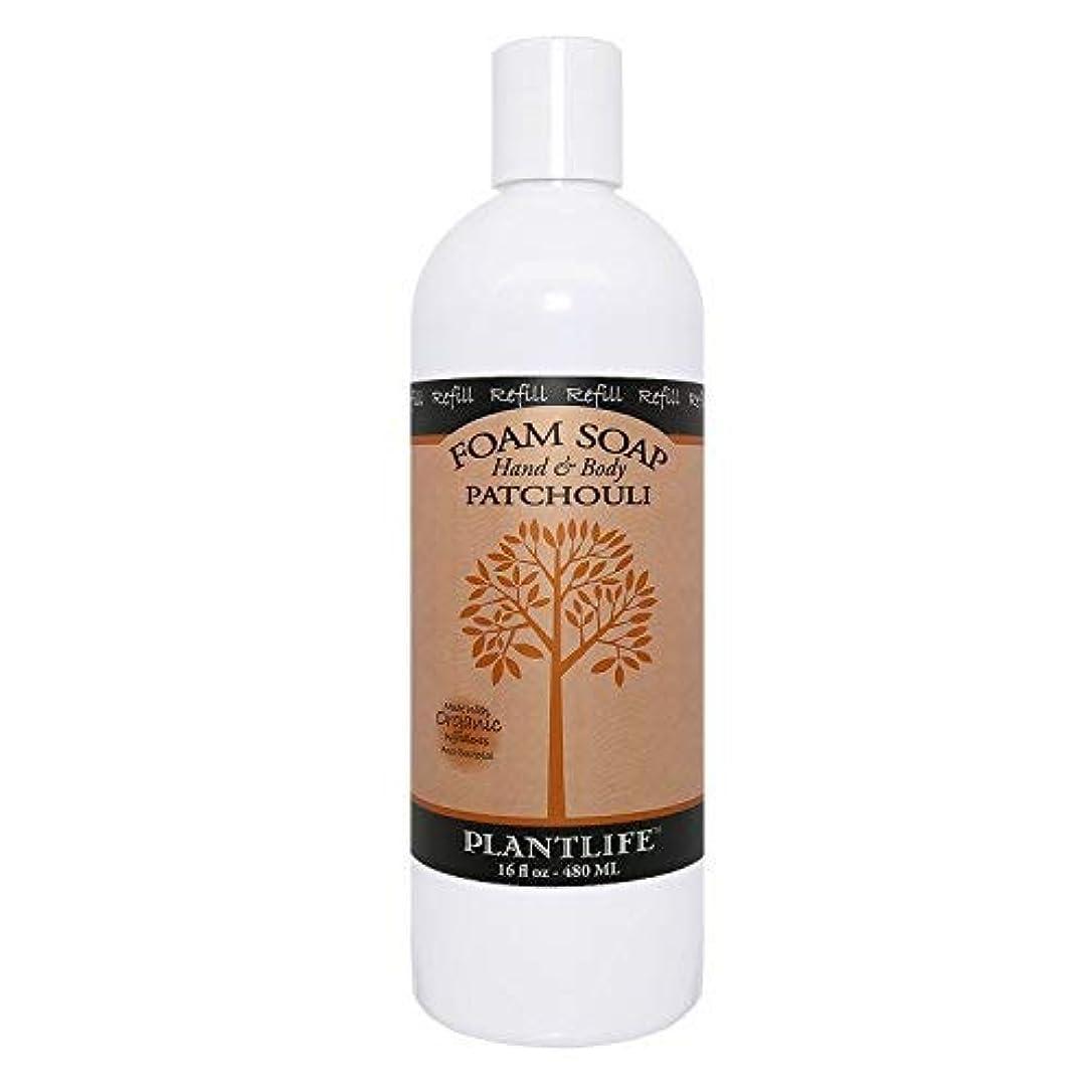 ジャンプするコンドーム深めるPatchouli Hand & Body Foam Soap - 16oz Refill [並行輸入品]