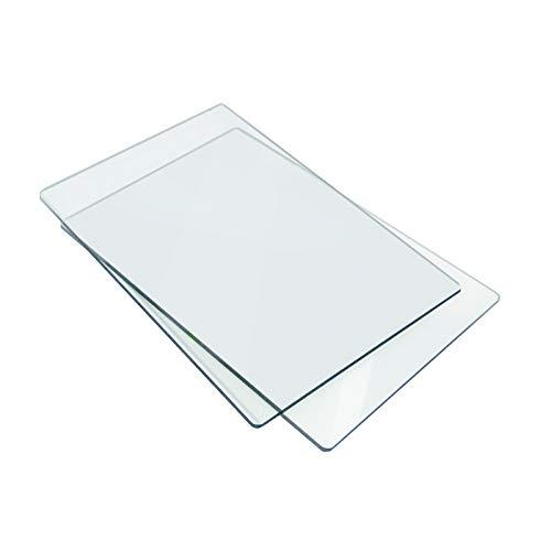 Sizzix 655093 Piani da Taglio Standard, 1 Paio, Plastico, 22.2 x 15.5 x 0.3cm