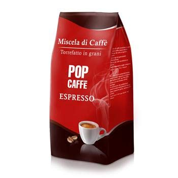 2 KG + 1 KG IN REGALO CAFFE' IN GRANI MISCELA CREMA BAR POP CAFFE'