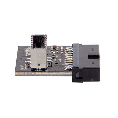 UC-037-052-060-LIST. Adaptador USB 3.0 de 20 pines a USB 3.1
