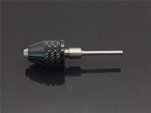 Newest 1 unid universal sin llave M-i-ni fixtura 1/4 HEX 0.3-8mm Chuck rápido Cambiar adaptador Convertidor de taladro Taluche Bit Ladera eléctrica Herramienta de perforación Herramientas