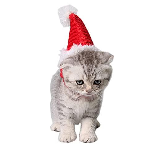 Jorzer Sombrero De Perro, Navidad Sombrero Mascota Perro Traje Gato Sombrero Sombrero...