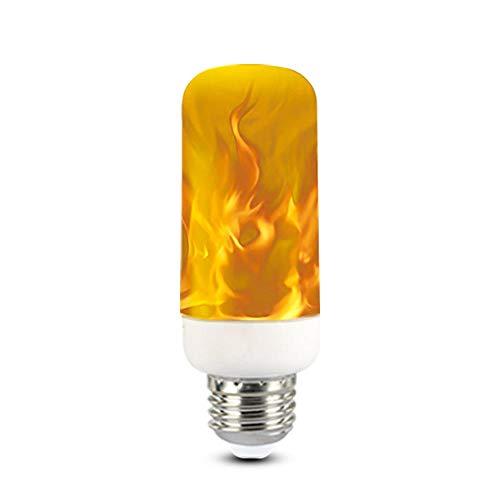 SMD-LED-lamp met dynamisch vlameffect, meerdere modi, creatieve maïslamp, decoratieve verlichting voor bars, restaurants, E27