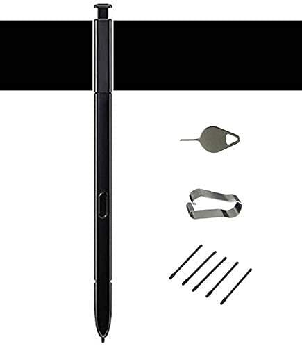 Galaxy Note 9 Pen Replacement S-Pen for Samsung note9 Stylus Pen Galaxy Note 9 S Pen Stylus Note9 N960 SM-N960U SM-N960 Galaxy Note 9 Black S Pen Stylus (Without Bluetooch)+ Tips/Nibs Eject Pin
