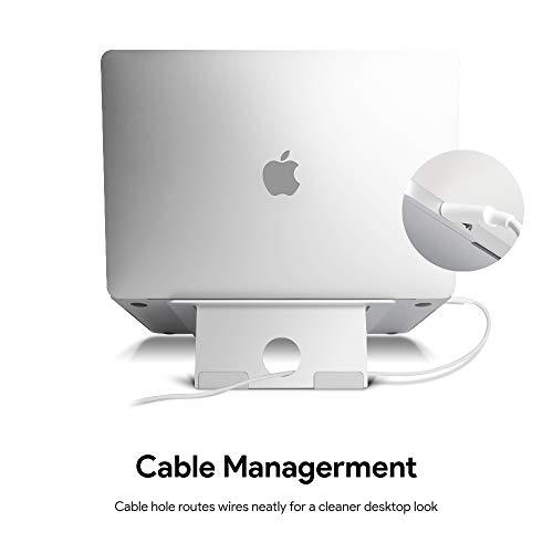 WEYO Laptop-Ständer aus Aluminium für 10-17 Zoll MacBook, MacBook Pro, MacBook Air, iPad, Laptop, Huawei Matebook, Tablet