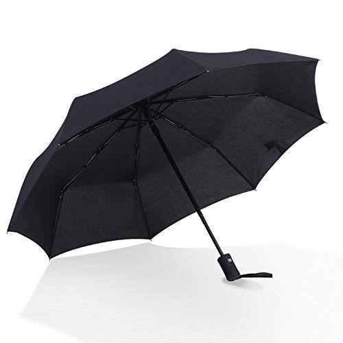 Xiaojing Dreifachgefalteter Automatischer Regenschirm Selbstöffnender Regenschirm Sonnenschirm Werbegeschenk Regenschirm