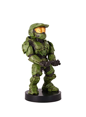 Exquisite Gaming Cable Guys - Halo Infinite Master Chief - Cable Guy Phone and Controller Holder