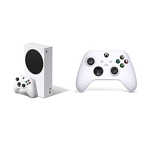Xbox Series S + Wireless Controller, Bianco Robot