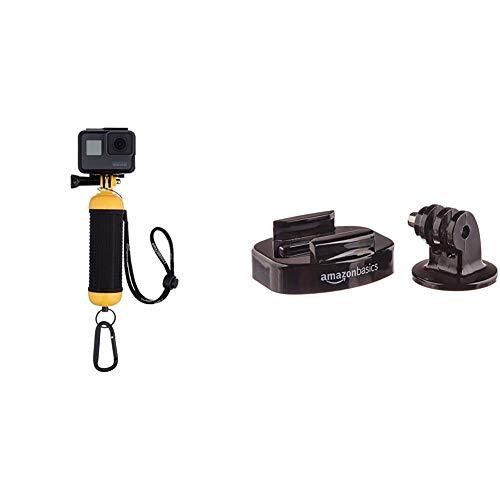 Amazon BasicsEmpuñadura Flotante e Impermeable para cámaras GoPro +Soportes para trípode para cámara GoPro