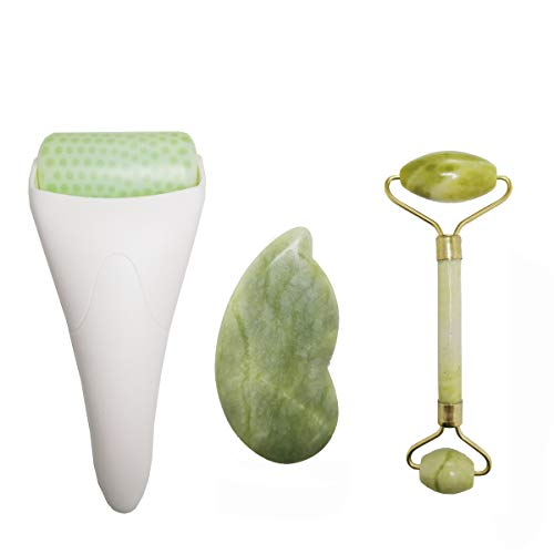 (DISKON 50%) Ice Jade Roller dan Gua Sha Facial Tools $ 12,50 - Kode Kupon
