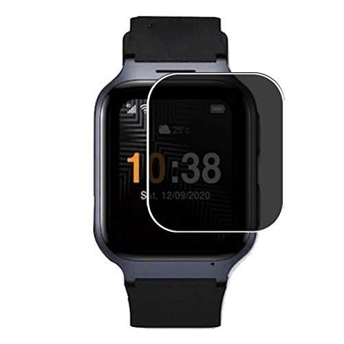 Vaxson Anti Spy Schutzfolie, kompatibel mit TCL MoveTime smart watch Smartwatch, Displayschutzfolie Bildschirmschutz Privatsphäre Schützen [nicht Panzerglas]