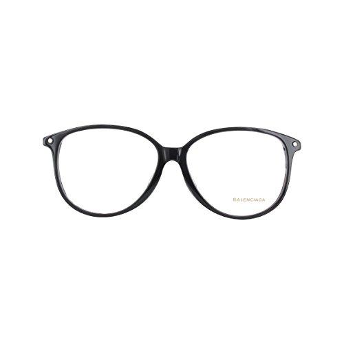 Balenciaga brilmontuur Ba5018 005-56-13-145 zonnebril, zwart (zwart), 56.0 dames