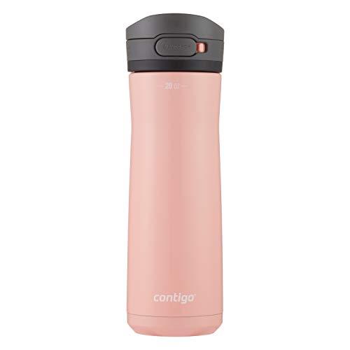Contigo AUTOPOP Water Bottle, 20oz, Pink Lemonade