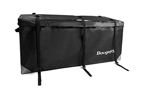 BougeRV Hitch Cargo Carrier Bag Waterproof/Rainproof Hitch Mount Cargo Bag for Car Truck SUV Vans...