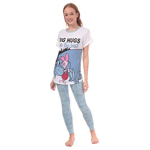 Disney Ladies Eeyore Big Hugs Damen Schlafanzug, 44-46
