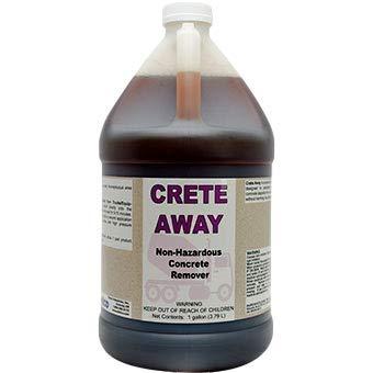 CRETE AWAY Non Hazardous Concrete Remover (1 gallon)