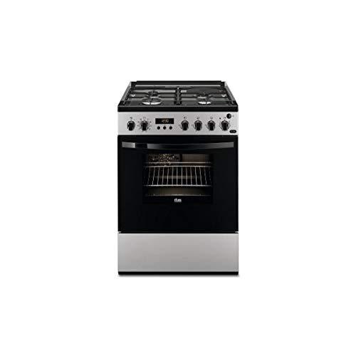 bon comparatif Faure FCM656HPSA Cuisinière à Gaz-Argent-Classe A / Gaz + Cuisinière électrique / Four… un avis de 2021