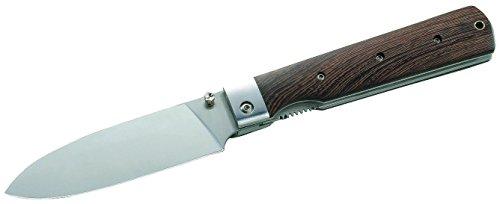 Herbertz Campingmesser, Stahl 440A, Tagayasan-Holz Messer, grau, M