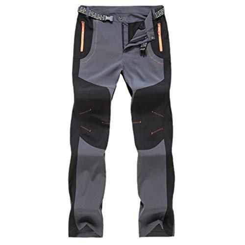 Yowablo Arbeitsschutzhose Berufsbekleidung Jeanshose Schlupfjeans Overall Jumpsuit Trainingsanzug Trainingshose Jogpants Sportanzug Jogginganzug (M,Herren-Grau)