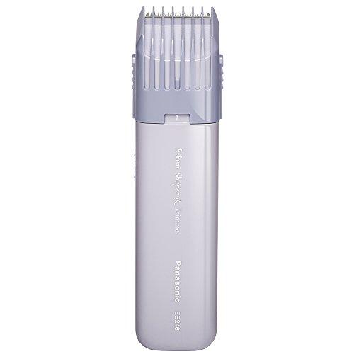 Panasonic Es246ac Bikini Shaper et tondeuse pour femme avec motif Compact, portable et bordure réglable, à piles