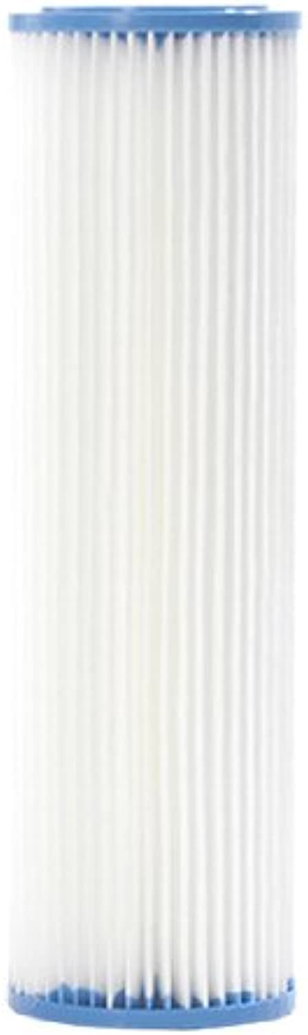 Crystal Quest CQE-RC-04034 5-Micron Sediment Reusable Pleated Filter