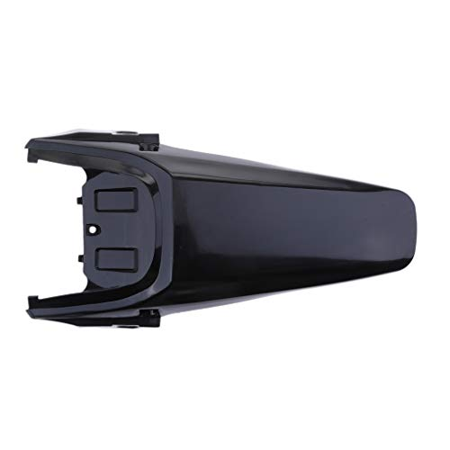 Motorcycle Trasero Fender Mudguard Cail Tail Guard For CRF70 Style Pit Pro Trail Dirt Bike Plastic Rueda Trasera Evite el Escudo de Salpicaduras Protector de Suciedad de Motocicleta (Color : Black)