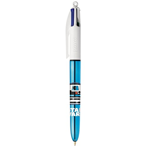 BIC - 1 ballpoint pen 4 colors - Star Wars R2D2 '- 4 classic colors