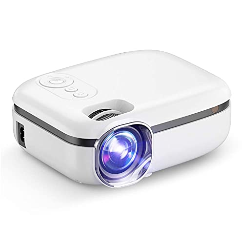 ZHAOHGJ Worth Having - New Tech 5G WiFi Mini Proyector TD92 Nativo 720P Proyector de teléfono Inteligente 1080p Video 3D Cine de Cata Portátil