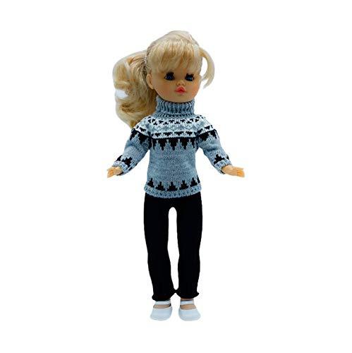 Muñeca Sintra 42 cm. con Vestido edición Limitada colección diseño, Fabricado en España por Folk Artesanía. Similar Nancy. Mod 20