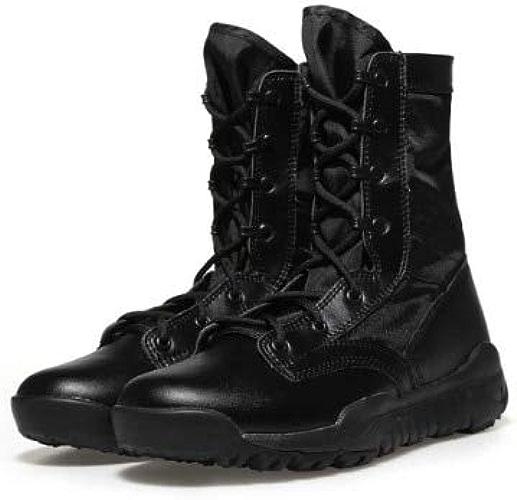 QLJ01 Tactique Bottes Hommes Léger en Plein Air Randonnée Chaussures Hommes Désert Haut Haut Militaire Armée De Combat Bottes Militares Sapatos Masculino