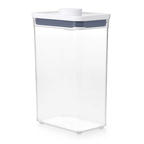 OXO NEW  Good Grips POP Container  Airtight Food Storage  27 Qt for Rice and MoreTransparent