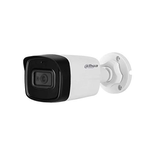 Dahua - Telecamera Videosorveglianza esterno HD Dahua CVI 5 MP 2.8 mm Audio - HAC-HFW1500TL-A