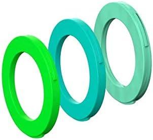 vert néon Magura 4-Piston Étrier Couleur Cover Kit pour un étrier cyan Comme neuf