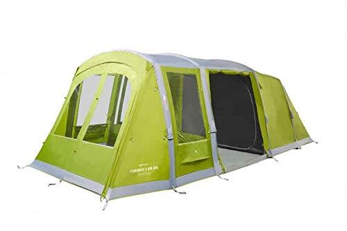 Vango Unisex's Herbal Stargrove II Air 450 Green 4 Man Tunnel Tent-2020, One Size