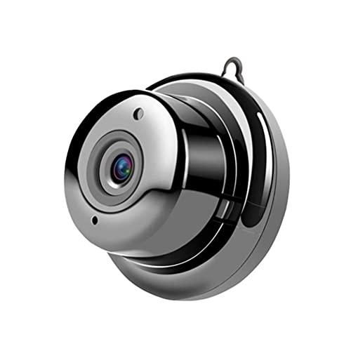 Auplew Cámara de vigilancia WiFi IP V380 HD 1080P WiFi Mini cámara con detección de movimiento adecuada para el hogar, la oficina y el hotel