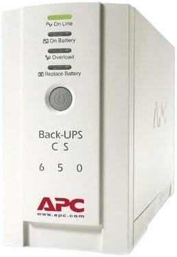 APC Back-UPS CS 650 - UPS - AC 230 V - 400 Watt - 650 VA - RS-232, USB - 4 output connector(s)