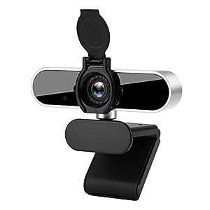 【Plug and Play Webcam】: Phinistec USB webcam handelt es sich um ein plug and play gerät mit USB 2.0/3.0 anschluss. Es sind KEINE zusätzlichen download oder installationstreiber erforderlich. Es ist praktisch und nützlich, es überall hin mitzunehmen. ...