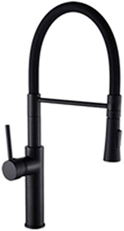 JYL Reines Schwarzes Küchen-Hahn 360 Ronating schwarzend Spülen-Hahn kalter und heier Küchenmischer-Hahn geschwrzter Sensor-Küchenmischer