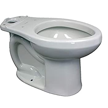 American Standard 3705216.020 H2Option Right-Height Elongated Toilet Bowl 16.00 x 17.50 x 28.00 inches White