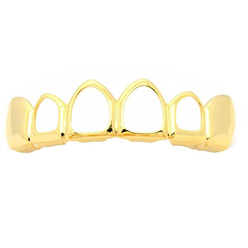 open face gold grill - 2