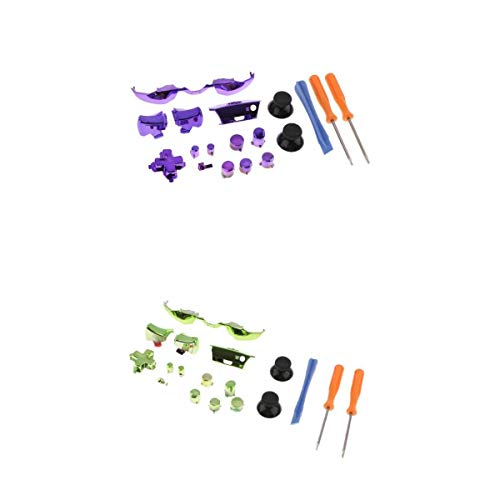 Almencla Kit De 2 Boutons Déclencheurs Pour Contrôleur Xbox One 3.5mm NOUVEAU