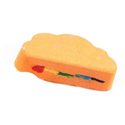 Brosse Pour Le Corps Brosse de massage Soins de la peau arc-en-ciel nuage sel huile essentielle boule de bain bulle exfoliant hydratant accessoires de
