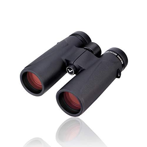 SVBONY SV202 10x42 Waterproof Extra-Low Dispersion ED Glass Binoculars Phase Correction Coated BaK4 Prism Magnesium Alloy Body