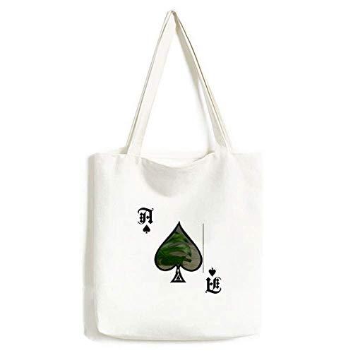 Tisch Blatt Pflanze Bild Natur Handtasche Craft Poker Spaten waschbare Tasche
