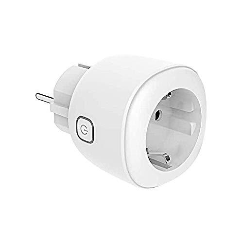 KEXIN Smart WiFi Steckdose Intelligente Wlan Steckdose mit App Fernsteuerung Sprachsteuerung Kompatibel mit Google Home Alexa, NUR 2.4 GHz Netzwerk Weiß (1 Pack)