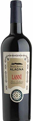Alagna Lanni Nero d'Avola Vino Rosso - Cassa da 6 bottiglie - 4.5 liters