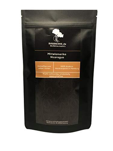 Rawbeans - Rohkaffee Arabica Nicaragua (grüne Kaffeebohnen 1000g)