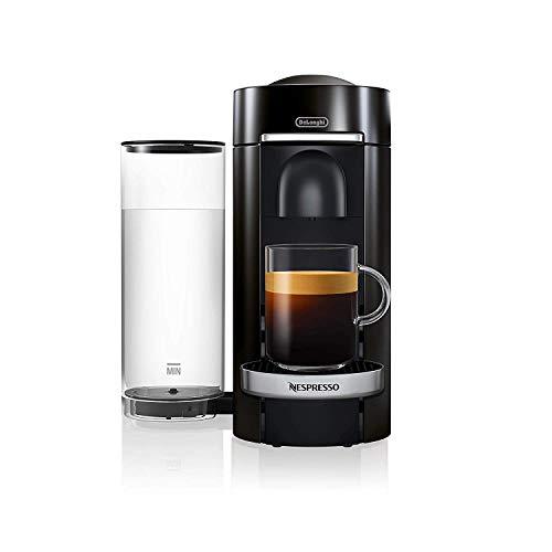 De'Longhi Nespresso Vertuo Plus | ENV 155.B Kaffeekapselmaschine | Eine Kaffeemaschine, 5 Tassengrößen | Inkl. Willkommenspaket mit 12 Kapseln | 1,7 L | schwarz