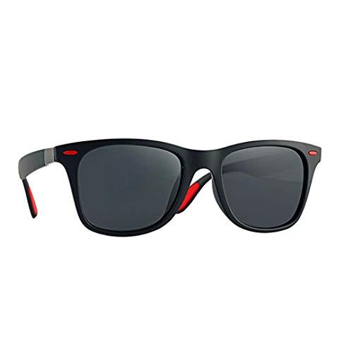 WQZYY&ASDCD Gafas de Sol Gafas De Sol Polarizadas para Hombre Gafas Cuadradas Clásicas para Mujer Gafas De Conducción Uv400-C03